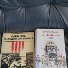Coleccionismo Acciones Españolas: LA GUERRA CIVIL EN CATALUÑA. Lote 206285003