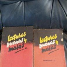 Coleccionismo Acciones Españolas: LECTURAS BUENAS Y MALAS (A. GARMENDIA DE OTAOLA, S.J). Lote 206285305