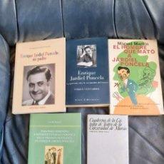 Coleccionismo Acciones Españolas: ENRIQUE JARDIEL PONCELA (BIOGRAFÍA Y 4 ENSAYOS). Lote 206285673