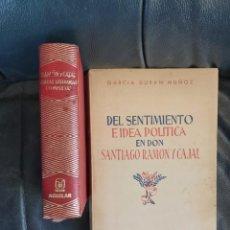 Coleccionismo Acciones Españolas: RAMÓN Y CAJAL. Lote 206286220