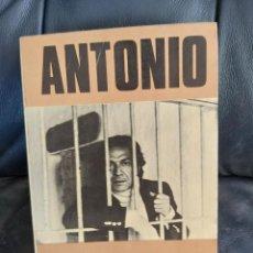 Coleccionismo Acciones Españolas: ANTONIO. MI DIARIO EN LA CÁRCEL. Lote 206286392