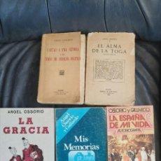 Coleccionismo Acciones Españolas: ÁNGEL OSSORIO Y GALLARDO. Lote 206286440