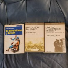 Coleccionismo Acciones Españolas: EL NATURALISMO EN ESPAÑA.( EMILIA PARDO BAZÁN Y OTROS). Lote 206286621