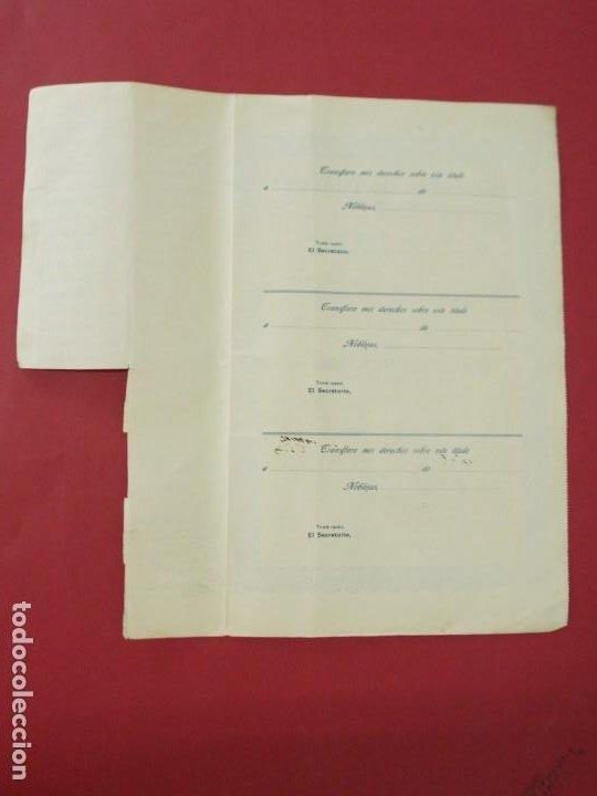 Coleccionismo Acciones Españolas: ACCION - HIDRAULICA DE NOBLEJAS , TOLEDO - AÑO 1929 - .. L500 - Foto 4 - 206975625