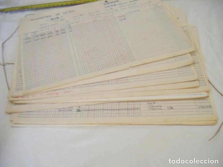Coleccionismo Acciones Españolas: JML MINERIA MINAS CONTROL DE LEYES CANTERA SAN JOSE ANALISIS PORTMAN CARTAGENA MURCIA 1985. CONJUNTO - Foto 7 - 211965571