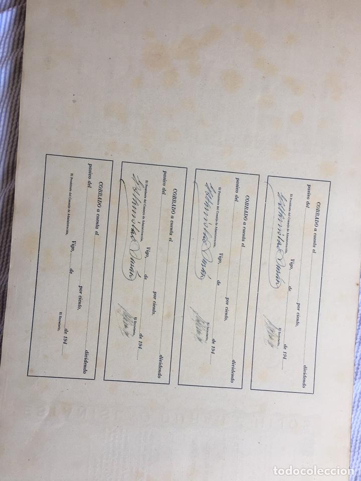 Coleccionismo Acciones Españolas: ESTANISLAO DURAN E HIJOS - Lote de 100 antiguas acciones nominativas. - Foto 4 - 214103578