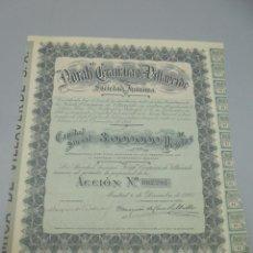 Coleccionismo Acciones Españolas: ACCIÓN. NORAH CERÁMICA DE VILLAVERDE SOCIEDAD ANÓNIMA. 1927. MADRID.. Lote 235650085