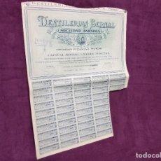 Coleccionismo Acciones Españolas: 1929, ANTIGUA ACCIÓN DE DESTILERÍAS BERNAL, MURCIA. Lote 236040515
