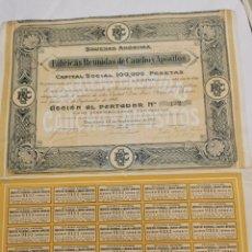Coleccionismo Acciones Españolas: ACCIONES. Lote 236083800