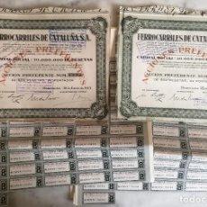 Coleccionismo Acciones Españolas: FERROCARRILES DE CATALUÑA S. A. Lote 236697360