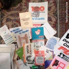 Coleccionismo Acciones Españolas: PROPAGANDA ELECTORAL ASTURIAS. 18 JULIO 1977. COLECCION DE LA TRANSICIÓN ESPAÑOLA. 1ª ELECCIONES.. Lote 244527765