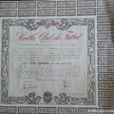 Collectionnisme Actions Espagne: OBLIGACIONES SEVILLA FC DE 1957 (49). Lote 249252085