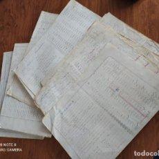 Collectionnisme Actions Espagne: JML CONJUNTO MINERO CONTROL LEYES MINERALES TERRERAS CANTERA SULTANA PORTMAN CARTAGENA MURCIA 1973. Lote 260465705