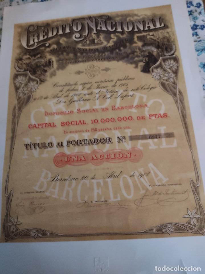 5 ACCIONES (Coleccionismo - Acciones Españolas)