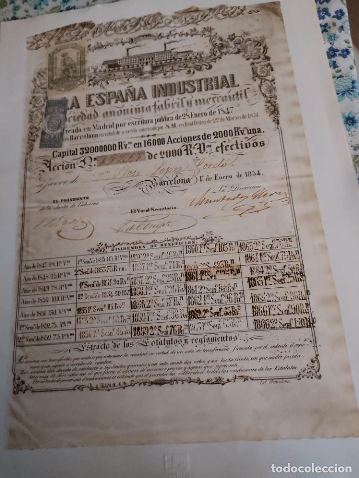 Coleccionismo Acciones Españolas: 5 Acciones - Foto 2 - 288066768