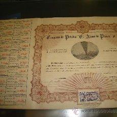 Coleccionismo Acciones Extranjeras: ACCION DE LA COMPAÑIA DE PETROLEO . Lote 25100241