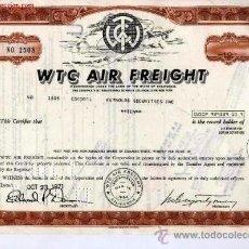 Coleccionismo Acciones Extranjeras: WTC AIR FREIGHT. Lote 21105655
