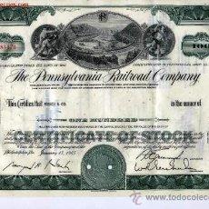 Coleccionismo Acciones Extranjeras: THE PENNSYLVANIA RAILROAD COMPANY. Lote 21792353
