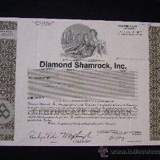 Colecionismo Ações Internacionais: ACCIÓN DE DIAMOND SHAMROCK INC. 1992. Lote 32380899