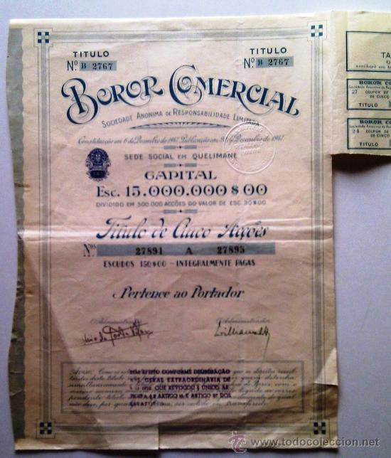 Coleccionismo Acciones Extranjeras: Acción completa - Foto 2 - 33521495