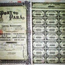 Coleccionismo Acciones Extranjeras: ACCION 1906