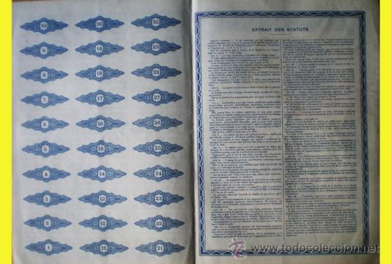 Coleccionismo Acciones Extranjeras: Reverso - Foto 2 - 35059503