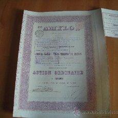 """Coleccionismo Acciones Extranjeras: """"AMYLO"""" 1898. Lote 35059945"""