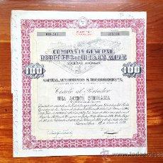 Coleccionismo Acciones Extranjeras: ACCIÓN COMPAÑÍA GENERAL PAPELERA DE BUENOS AIRES S.A. BUENOS AIRES, 1959. ARGENTINA. Lote 35627068