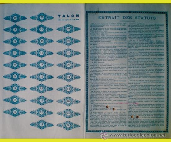 Coleccionismo Acciones Extranjeras: Reverso - Foto 2 - 37088250