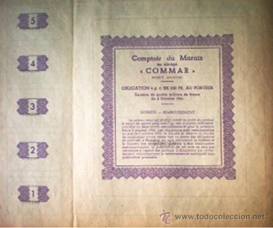 Coleccionismo Acciones Extranjeras: Reverso - Foto 2 - 37607967