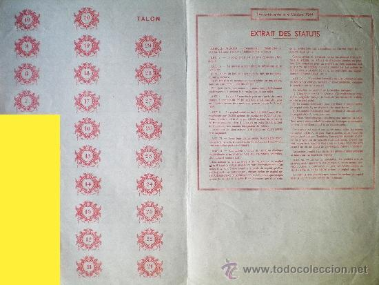 Coleccionismo Acciones Extranjeras: Reverso - Foto 2 - 37924468