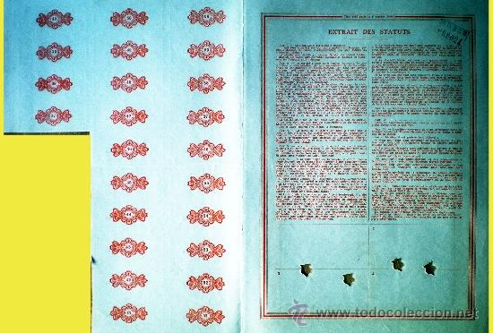 Coleccionismo Acciones Extranjeras: Reverso - Foto 2 - 37958340