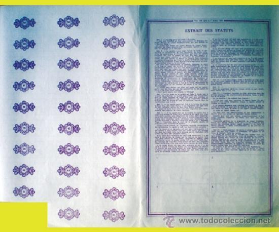 Coleccionismo Acciones Extranjeras: Reverso - Foto 2 - 37958723