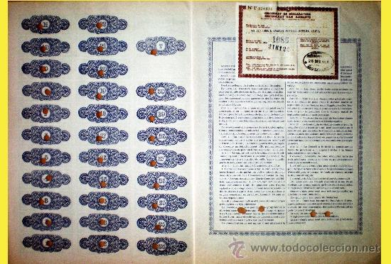 Coleccionismo Acciones Extranjeras: Reverso - Foto 2 - 37970307