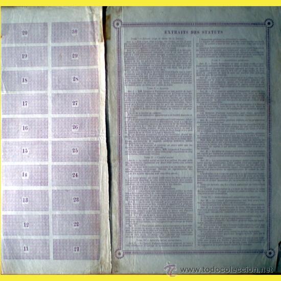 Coleccionismo Acciones Extranjeras: Reverso - Foto 2 - 37971592