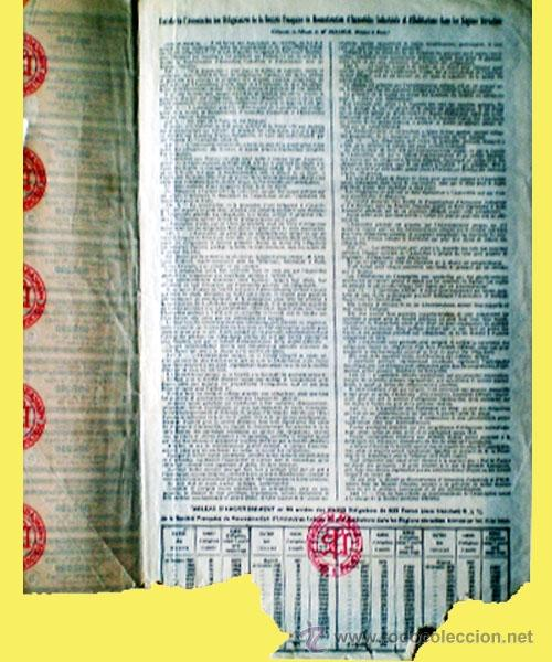 Coleccionismo Acciones Extranjeras: Reverso - Foto 2 - 37984221