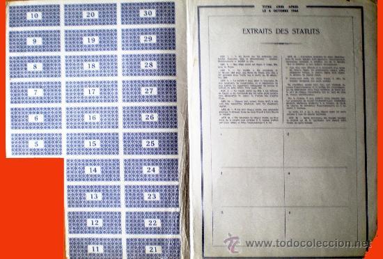 Coleccionismo Acciones Extranjeras: Interior - Foto 2 - 37996957