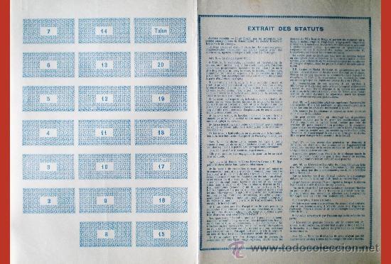 Coleccionismo Acciones Extranjeras: Reverso - Foto 2 - 38007306