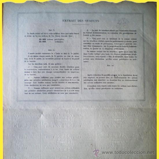 Coleccionismo Acciones Extranjeras: Reverso - Foto 3 - 38068093