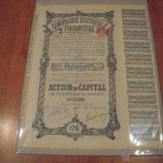Coleccionismo Acciones Extranjeras: COMPAGNIE NATIONALE FINANCIÈRE. Lote 47351701