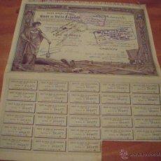 Coleccionismo Acciones Extranjeras: MINAS DE BALIA-KARAIDIN 1924. Lote 47382803