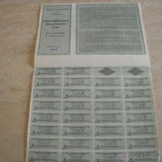 Coleccionismo Acciones Extranjeras: WARRANT FRANCO CANADIAN GENERAL MINING CORPORATION 1923. Lote 47397123