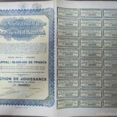 Coleccionismo Acciones Extranjeras: ACCION. BANQUE MUTUELLE DE CRÉDIT ETD´EPARGNE. S.A. ONDERLINGE KREDIT EN SPAARBANK.. Lote 57504831