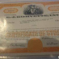 Coleccionismo Acciones Extranjeras: ACCIONES AMERICANA EN PERFECTO ESTADO . Lote 67004315