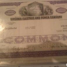 Coleccionismo Acciones Extranjeras: ACCIONES AMERICANA EN PERFECTO ESTADO . Lote 67004695