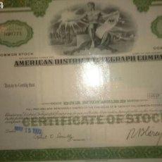 Coleccionismo Acciones Extranjeras: ACCIONES AMERICANA EN PERFECTO ESTADO. Lote 67005999