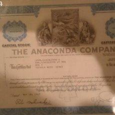Coleccionismo Acciones Extranjeras: ACCIONES AMERICANA EN PERFECTO. Lote 67006495