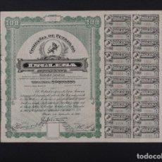 Coleccionismo Acciones Extranjeras: COMPAÑÍA DE PETRÓLEO INGLESA Y ANEXAS, MÉXICO 1916. Lote 67306865