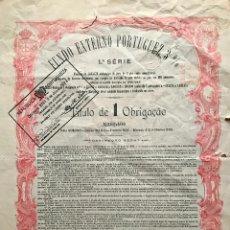 Coleccionismo Acciones Extranjeras: OBLIGACIÓN PORTUGUESA DE 1902. Lote 79137677