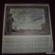 Coleccionismo Acciones Extranjeras: ACCION EXTRANJERA,MINES DE BALIA-KARAIDIN,DEL 1924. Lote 94562287